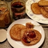 Soaked Whole Wheat Pancakes