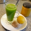 Ginger and Turmeric Green Juice